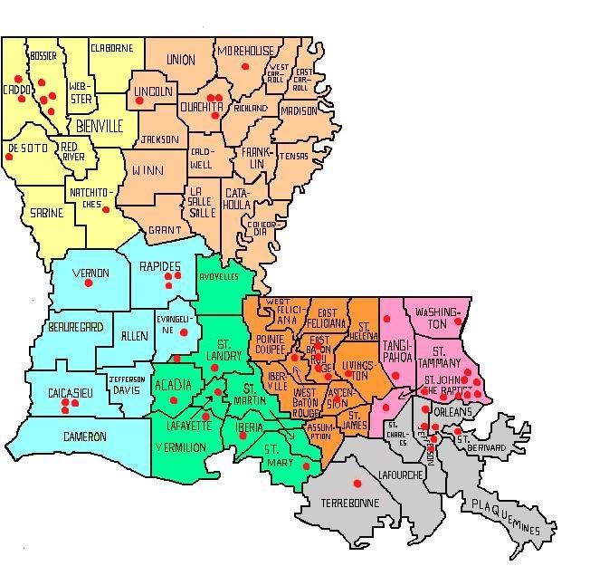 PFFA District Map